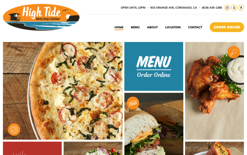 High Tide Website
