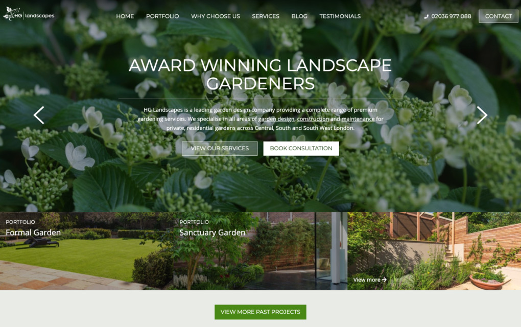 Hg landscaping